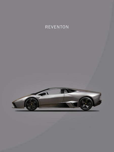 Super Cars Photograph - The Lamborghini Reventon by Mark Rogan