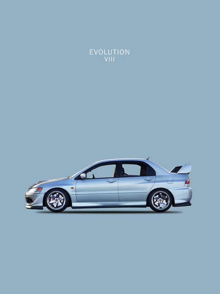 Evolution Wall Art - Photograph - The Lancer Evolution Viii by Mark Rogan