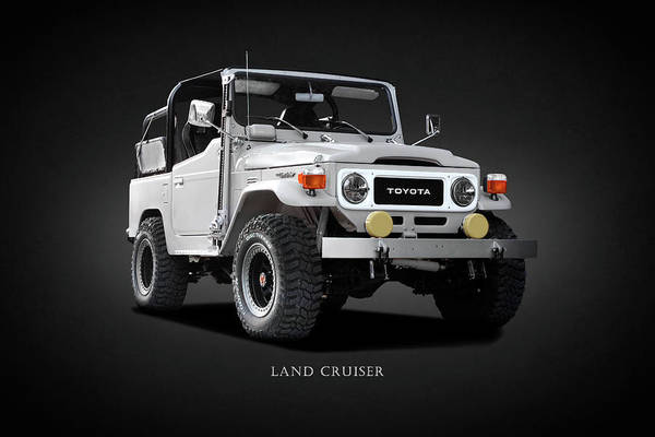 Cruiser Wall Art - Photograph - The Land Cruiser by Mark Rogan