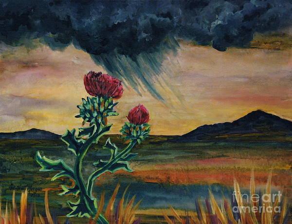 Genie Painting - The Land I Love by Genie Morgan