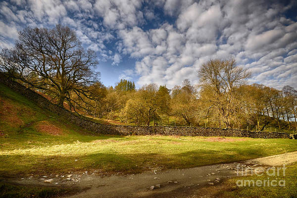 Lake District National Park Wall Art - Photograph - The Land Of Make Believe by Smart Aviation