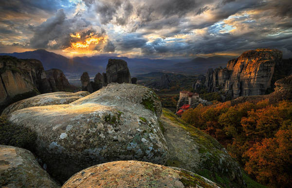 Sunset Colors Photograph - The Land Of Wonders by Cristian Kirshbom