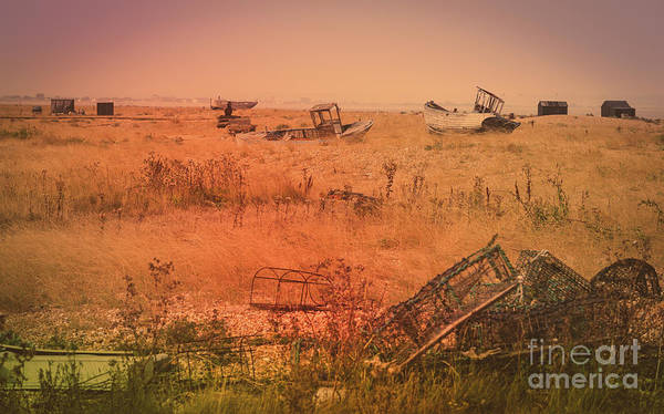 Photograph - The Landscape Of Dungeness Beach, England 2 by Perry Rodriguez