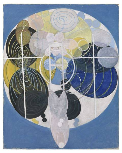 Wall Art - Painting - The Large Figure Paintings  No  5 Group 3  Hilma Af Klint 1907 by Hilma af Klint