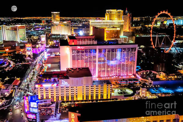 Photograph - The Las Vegas Strip North by Anthony Sacco