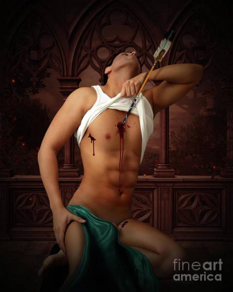 Erotic Photograph - the last Caesar by Mark Ashkenazi