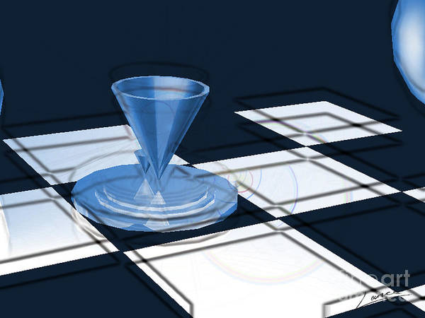 Digital Art - The Last Chess Pawn by Lance Sheridan-Peel