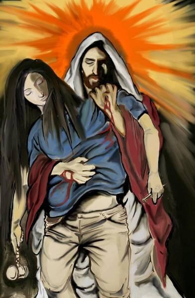 Jesuschrist Digital Art - The Last Christ by Donato Ciarlo