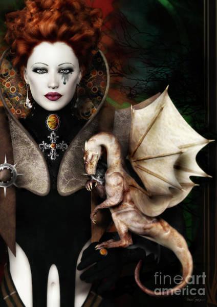 Dragon Digital Art - The Last Dragon by Shanina Conway