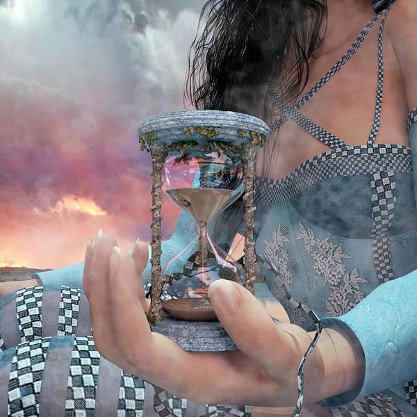 Made Digital Art - The Last Grain by Betsy Knapp
