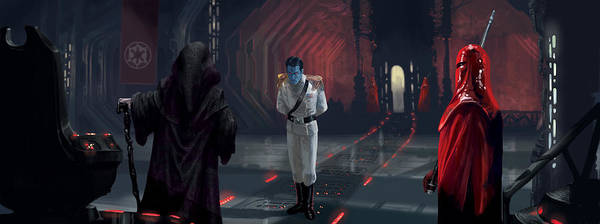 Royal Digital Art - The Last Grand Admiral by Ryan Barger
