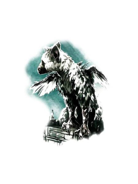 Ico Wall Art - Digital Art - The Last Guardian by Balerante Work