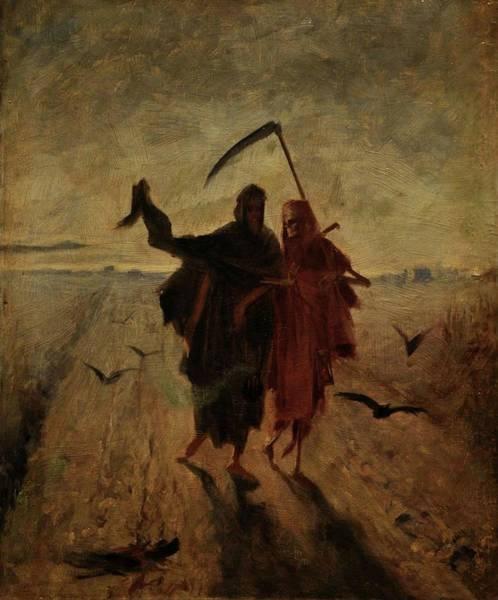Painting - The Last Journey by Jakub Schikaneder