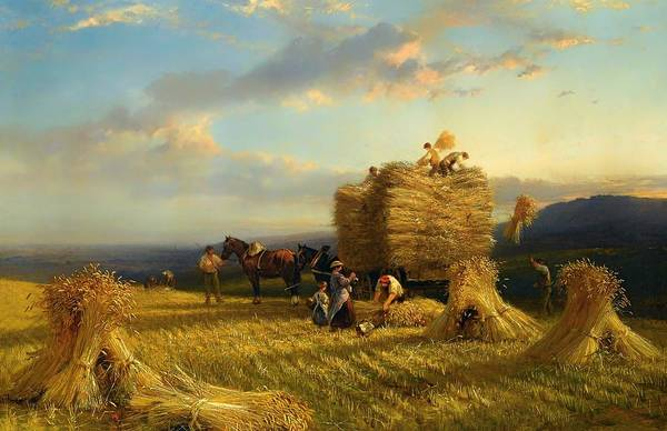 Artistry Painting - The Last Load by Mountain Dreams