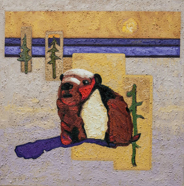Painting - The Last Marmot by Rob Owen