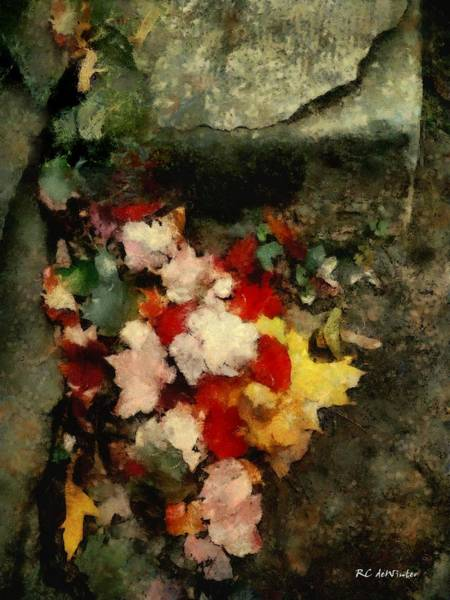 Painting - The Last Of Autumn by RC DeWinter