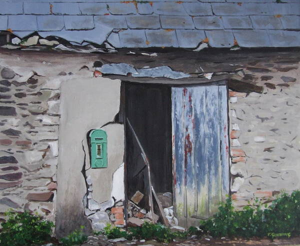 Dereliction Painting - The Last Post by Tony Gunning