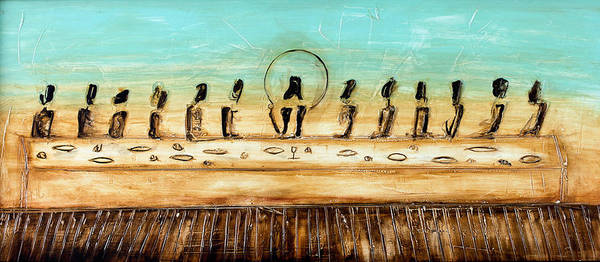 Reflections Mixed Media - The Last Supper by Ivan Guaderrama