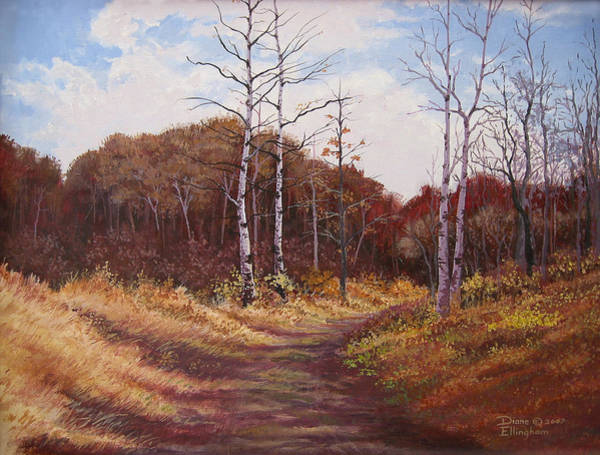 Painting - The Last Wilderness by Diane Ellingham