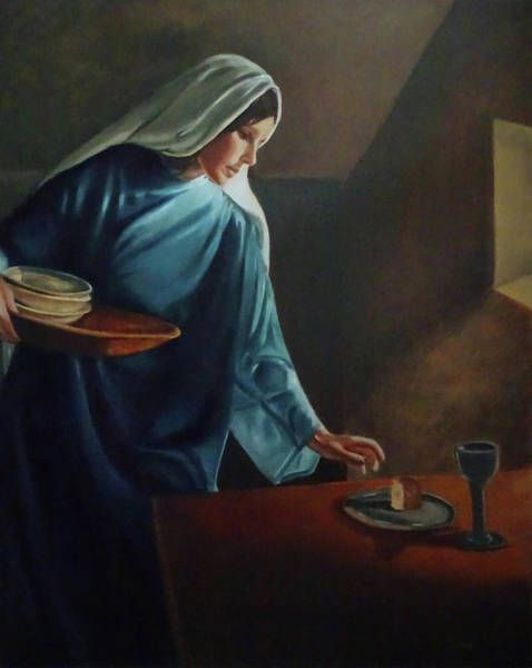Painting - The Lasting Supper by Jill Ciccone Pike