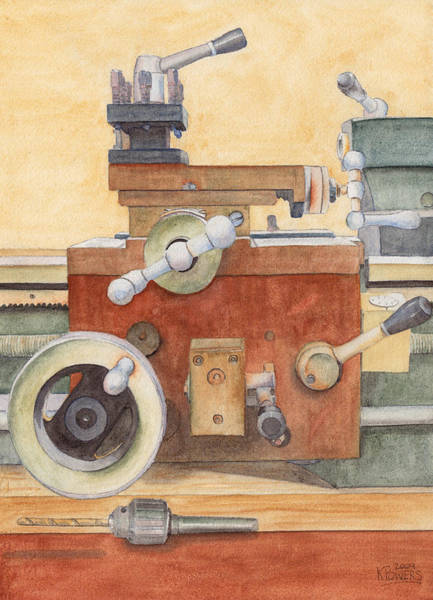 The Lathe Art Print