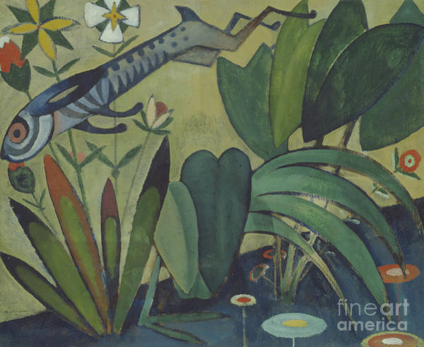 Wild Rabbit Painting - The Leap Of The Rabbit by Amadeu de Souza-Cardoso