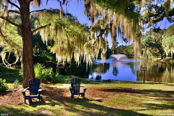 Photograph - The Legare-waring Gardens At Charles Town Landing by Lisa Wooten