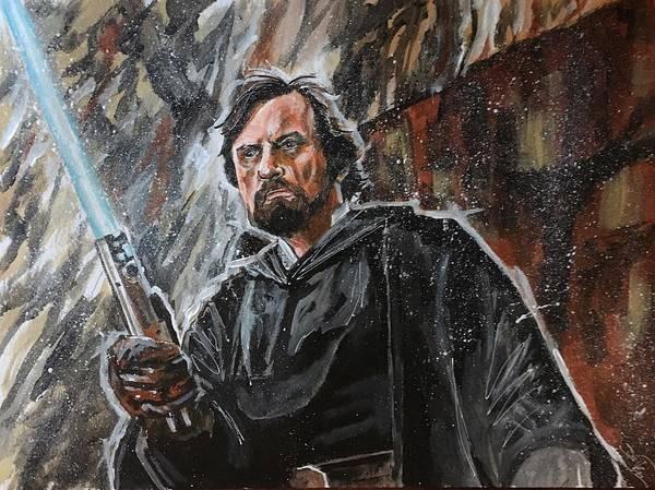 Painting - The Legend by Joel Tesch