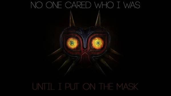 Design Digital Art - The Legend Of Zelda Majora's Mask by Maye Loeser