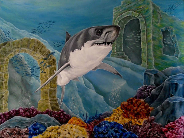 Wall Art - Painting - The Legend's Kingdom by Faye Anastasopoulou