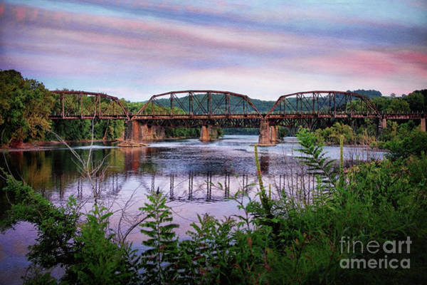 Photograph - The Lehigh And Hudson Over The Delaware by Mark Miller