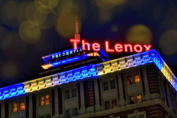 Boston Marathon Wall Art - Photograph - The Lenox And The Pru - Boston Marathon Colors by Joann Vitali