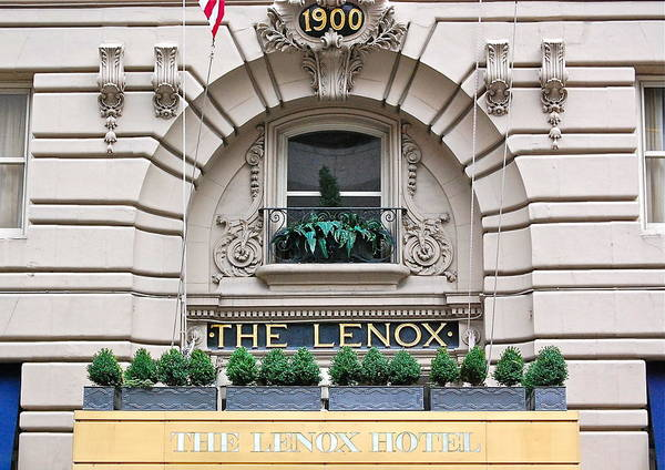 Photograph - The Lenox Hotel - Boston Ma by Mary McAvoy