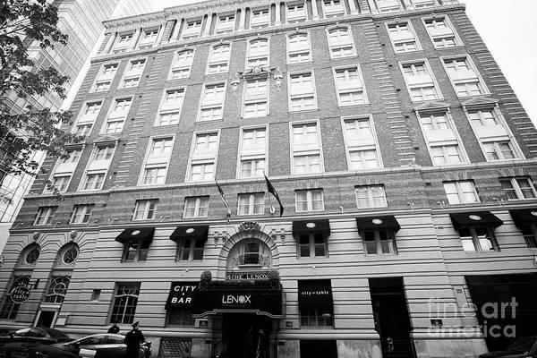 Wall Art - Photograph - The Lenox Hotel Boston Usa by Joe Fox