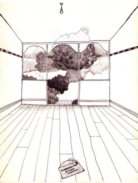 Explosion Drawing - The Letter by Andy  Mercer