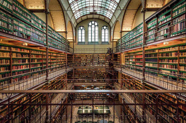 Photograph - The Library by Mario Visser