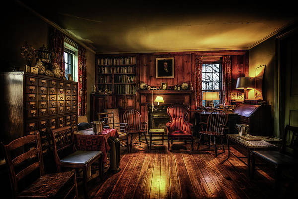 Photograph - The Library by Ryan Wyckoff