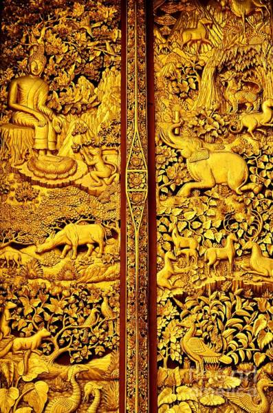 Buddhist Temple Wall Art - Photograph - The Life Of Buddha by Dean Harte