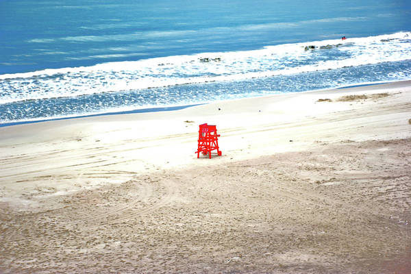 Photograph - The Lifeguard Stand by Gina O'Brien