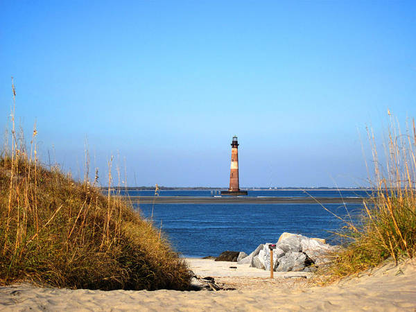 Sc Wall Art - Photograph - The Lighhouse At Morris Island Charleston by Susanne Van Hulst
