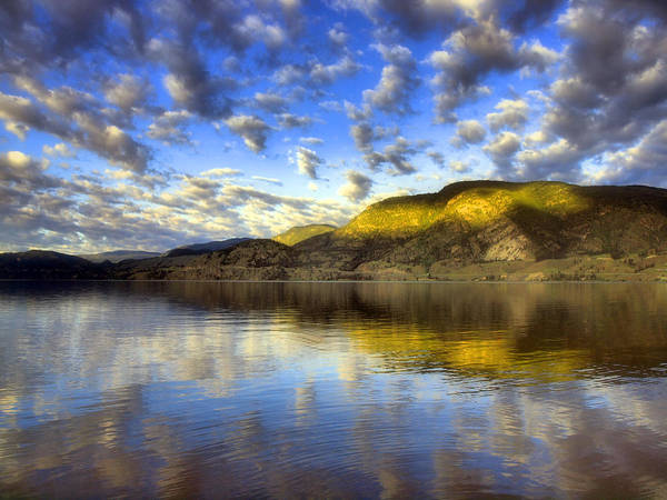 Photograph - The Light At Skaha Lake by Tara Turner