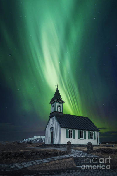 Northern Photograph - The Light Between Us by Evelina Kremsdorf
