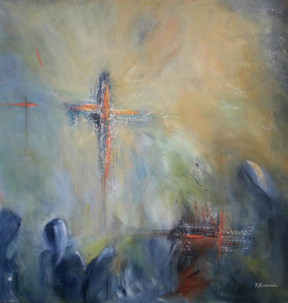 Painting - The Light Of Christ by Roberta Rotunda