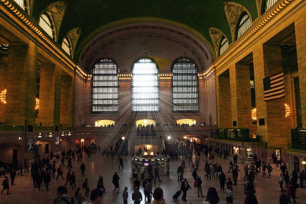 Grand Central Terminal Wall Art - Photograph - The Light Of Grand Central  by Jessica Jenney