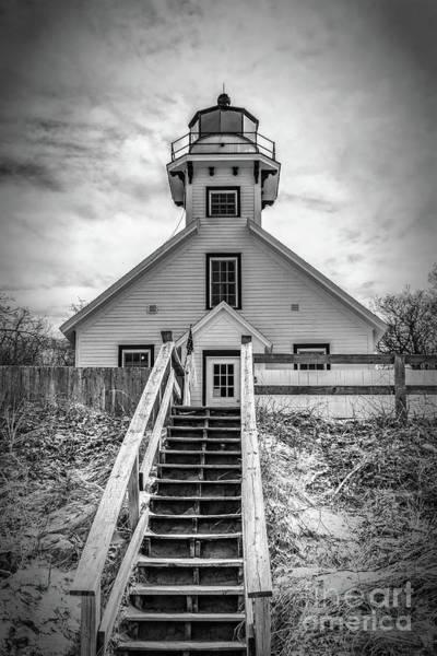 Photograph - The Light Of Mission Point by Nick Zelinsky