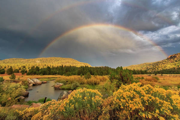 Lightroom Photograph - The Light, The Rainbows And The River by Mike Herron