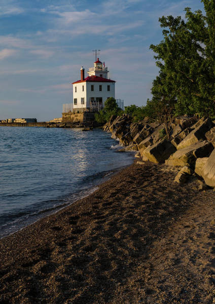 Photograph - The Lighthouse At Fairport Harbor by Dale Kincaid