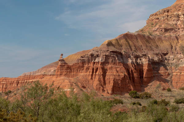 Photograph - The Lighthouse At Palo Duro Canyon by Susan Rissi Tregoning