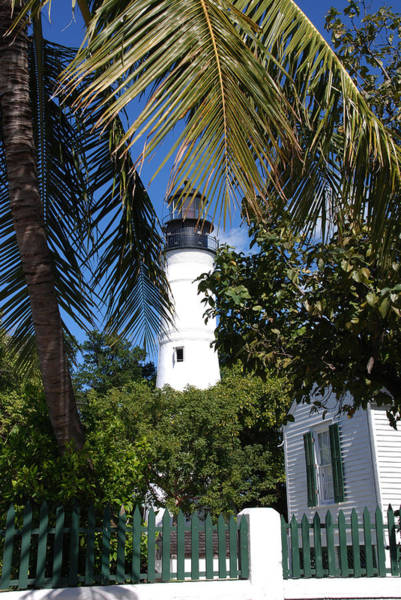 The Lighthouse In Key West II Art Print