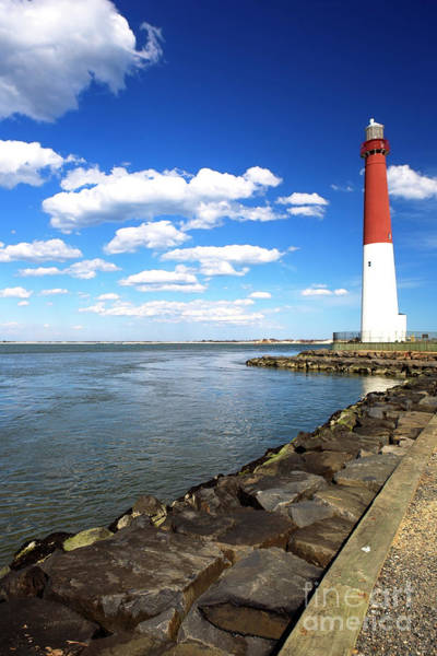 Photograph - The Lighthouse At Long Beach Island by John Rizzuto